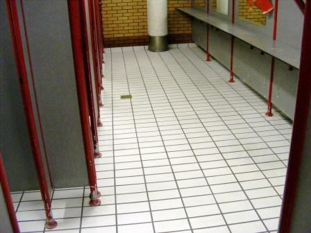Public Toilets After Cleaning