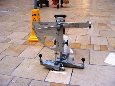 Shopping Centre Tile Maintenance