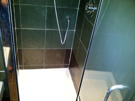 Slate Shower After Restoration