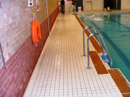 Swimming Pool Tile After Restoration