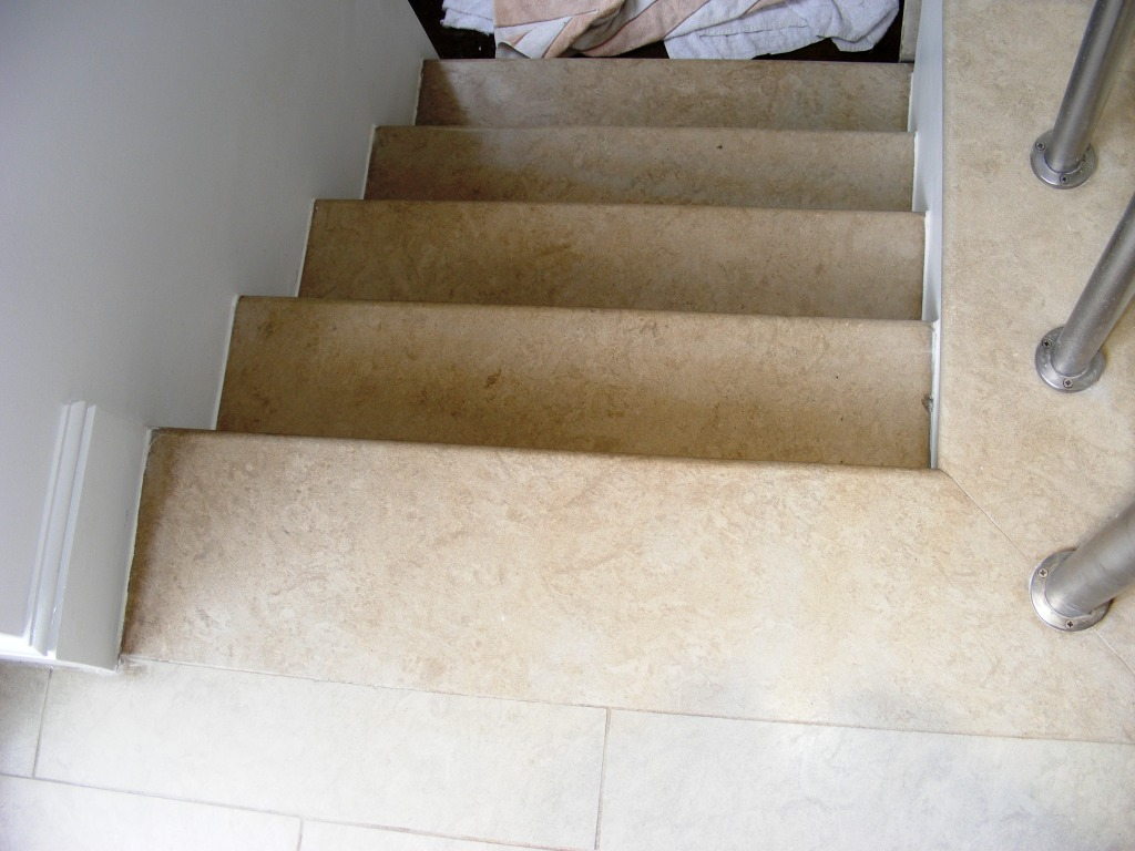 Limestone Steps Completed