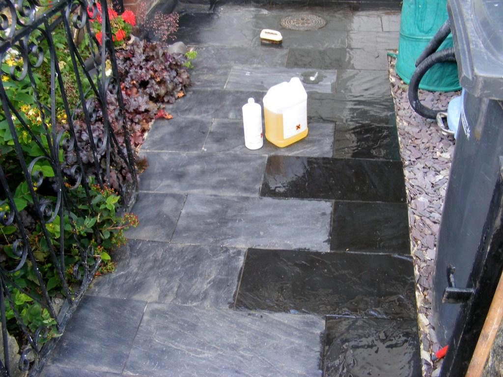 Natural Slate Path Mid Process