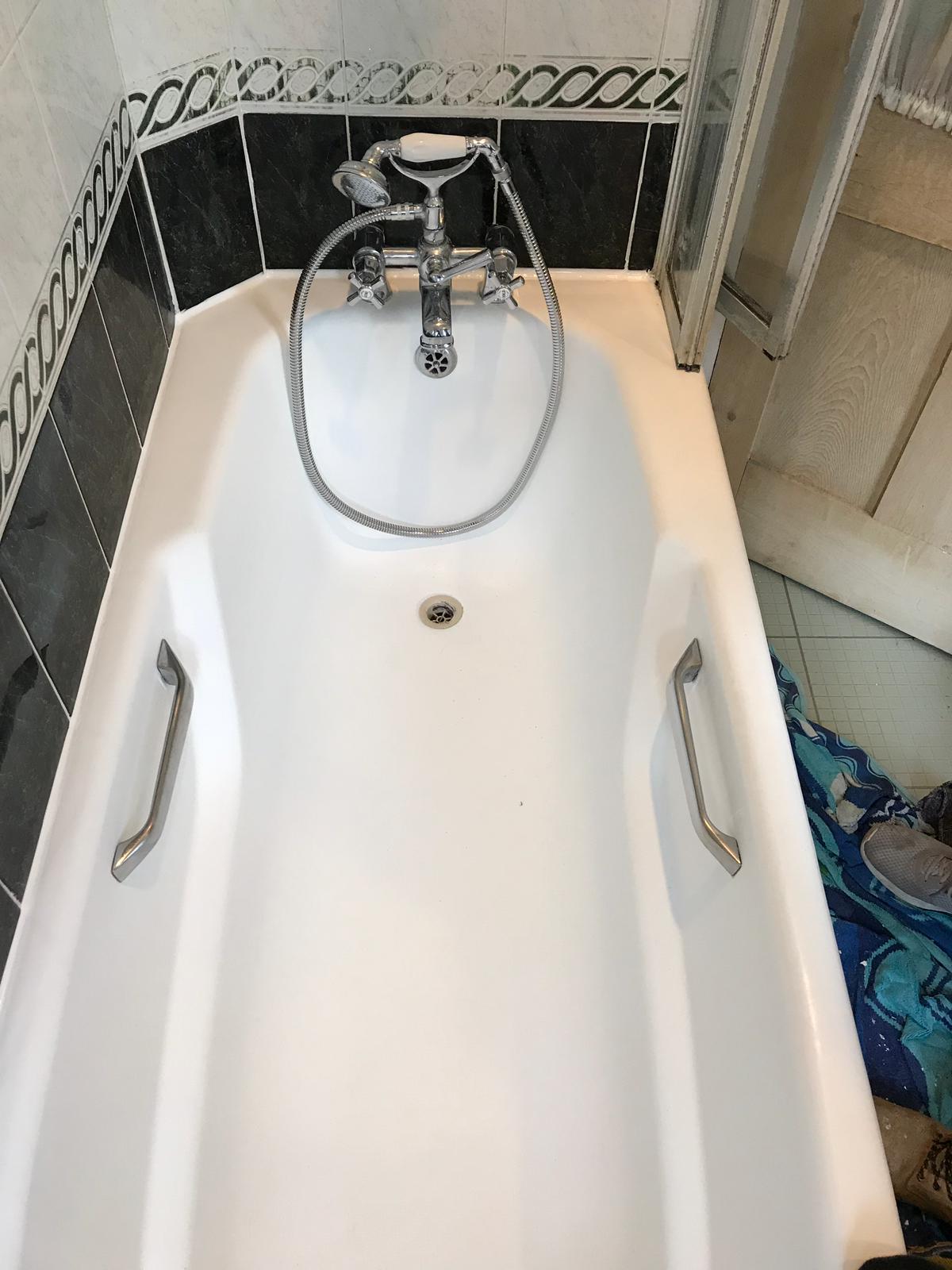St Albans Bath Tile Grout After Renovation