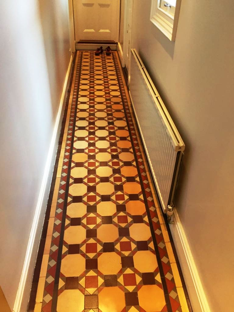 Edwardian Hallway After Rebuild Harpenden